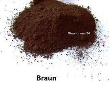 Oxidfarbe-Pigment 1kg - Oxidpigment für Betonmasse, Putz, Gips - Farbe: Braun