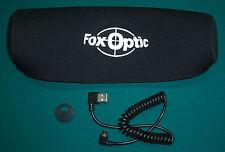 Fox Optic ATN X Sight II Port Cap & External 2 amp Cord W Custom Neoprene Cover