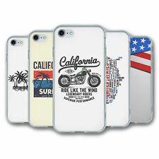 Para iPhone 7 & 8 Silicona Funda Cubierta Colección de EE. UU. 1