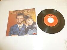 "FRANK & MIRELLA - Sneeuw In Augustus - 1985 Dutch 7"" Juke Box Vinyl Single"
