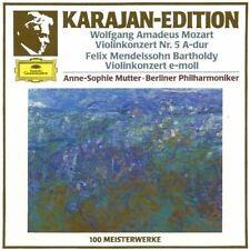 Anne-Sophie Mutter Mozart: Violinkonzert Nr. 5, KV 219/Mendelssohn Bartho.. [CD]