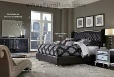 Leather Bedroom Furniture Sets with 4 Items in Set for sale ...