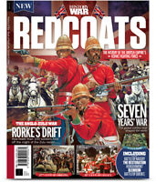 History War Book of REDCOATS 2nd Edition, Seven year war Rorkes Draft NEW
