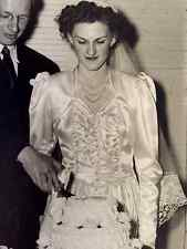 Vintage Wedding Gown 1940'S Beautiful A+ Condition