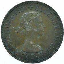 1959 HALF PENNY GB UK QUEEN ELIZABETH II COLLECTIBLE COIN  #WT31460