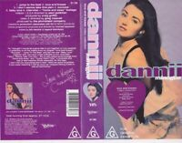 DANNII MINOGUE RARE VIDEO VHS  PAL ~A RARE FIND