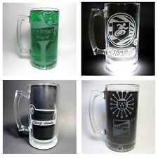 Set of 4 COD Zombies Inspired Perk Mugs. Set 2: Stamin-Up, PhD, Deadshot, Tomb.