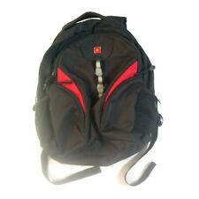 Swiss Gear Black / Red Unisex Utility Backpack Computer Outdoor Bag