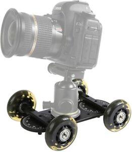 Sevenoak SK-DW03 360 DSLR Stabilizer Camera Table Dolly with Inline Skate Wheel