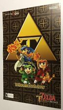Legend of Zelda 2 sided Pokemon Mystery Dungeon POSTER Print Nintendo 3DS game