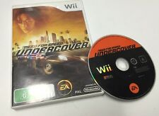 Need for Speed Undercover Nintendo Wii