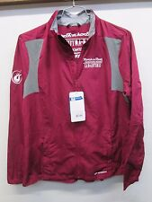 NWT $90 Brooks Windbreaker Jacket Rock'n'Roll Marathon San Antonio maroon sz XL