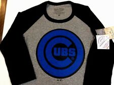 Chicago Cubs Youth Medium Majestic Threads Tee New MLB Authentic Free Shipping
