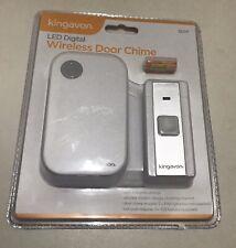 Kingavon Wireless Door Chime White DOOR BELL Premium Quality Fast Dispatched