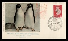 DR WHO 1959 ARGENTINA ANTARCTICA 6TH INTL GEOPHYSICAL YEAR  C239156