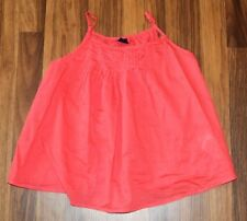 Girls - GAP KIDS - Popsicle Brights Rosebush Pleated Ruffle Tank Top Shirt L 10