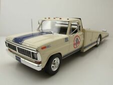 Ford F-350 Ramp Truck Shelby Racing 1970 weiß Modellauto 1:18 Acme