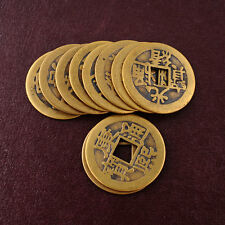 10x Feng Shui Chinese Fortune Dragon phoenix Coin Emperor Qing Money Coins