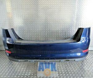 Stoßstange hinten 7S71F17906A blau E6 Ford Mondeo IV BA7 Limousine