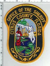 Office of the Sheriff - Citrus County (Florida) Shoulder Patch