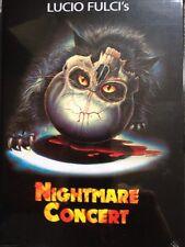 Nightmare Concert Blu Ray/ DVD Mediabook Oop