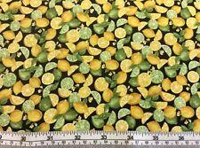 Paintbush Studio - Farmer's John Mini Market - Lemons + Limes - 100% Cotton