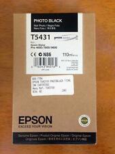 Genuine Epson Ink - T5431 PHOTO BLACK / STYLUS PRO 4000 7600 9600 (INC VAT)