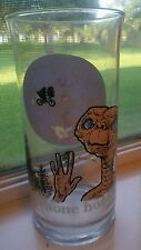 "Vintage 1982 E.T. Pizza Hut Collector Glass ""Phone Home"""