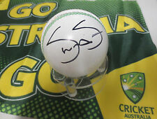 Shane Watson signed White Cricket Ball  # 3 + C.O.A. & Photo Proof of signing