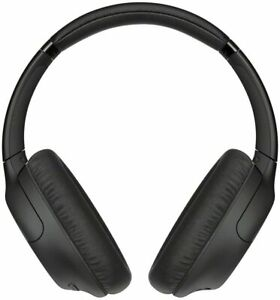 SONY WHCH710N (WH-CH710) Wireless Bluetooth Noise-Cancelling Headphones Black
