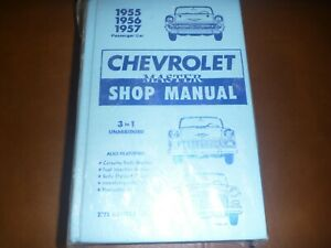 Service Repair Manuals For 1957 Chevrolet Bel Air For Sale Ebay