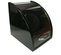 New Axis Black Gloss Curved Single Watch Winder