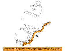 GM OEM Engine Oil Cooler-Outlet Hose 12472314