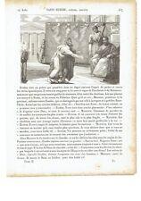 """1825 Vite dei Santi: Sant'Eusebio di Roma 14 Agosto """"Saint Eusebe"""""""