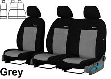 FORD TRANSIT CONNECT VAN 2015 2016 2017 2018 2019 VELOUR TAILORED SEAT COVERS
