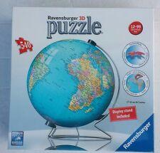 RAVENSBURGERRAVENSBURGER  540pc 3D PUZZLE THE EARTH  540pc 3D PUZZLE THE EARTH