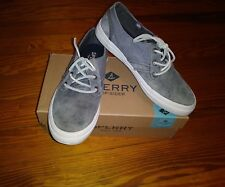EUC Sperry Women's Shoes Crest Rider Leather Gray Size 7
