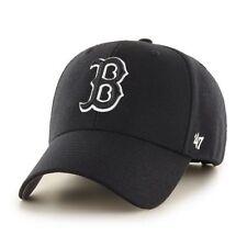 Boston Red Sox '47 Brand Black Adjustable MVP Hat