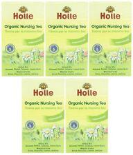 Holle organic nursing thés - 20 sachets de thé (pack de 5)