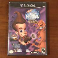 Jimmy Neutron Boy Genius: Attack of the Twonkies (Nintendo Gamecube, 2004) WORKS