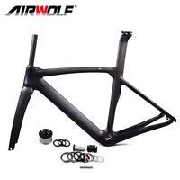 T1100 Carbon Fiber Road Bike Frame Bicycle Frameset 700c Fork Seatpost Frames