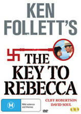 The Key to Rebecca NEW PAL Cult 2-DVD Set D. Hemmings Cliff Robertson David Soul