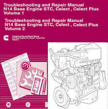CUMMINS N14 2010 STC Celect & Celect Plus Shop Factory Manual Engine Repair   CD