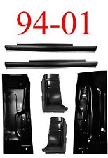 94 01 Dodge 6Pc Regular Cab Slip-On Rocker, Cab Corner & Floor, 2 Door Ram Truck