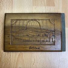 More details for vintage flowers from the holy land book 1917 british army olive wood bethlehem