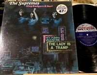 The Supremes Sing Rogers & Hart Vinyl LP Motown 659 Diana Ross First Pressing