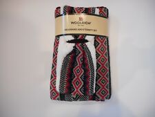 WOOLRICH 2 piece SET Winter Knit HEADBAND and ETERNITY SCARF womens One Size NEW