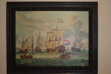 East India Fleet Framed Painting / Print