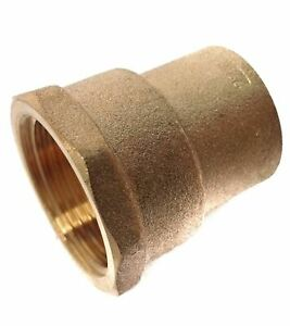 """15mm x 1/2"""" BSP End Feed Female Adaptor - Pack of 2 - SAME DAY TRACKED DISPATCH"""
