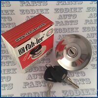 STAINLESS STEEL Polished Locking Fuel Petrol Cap